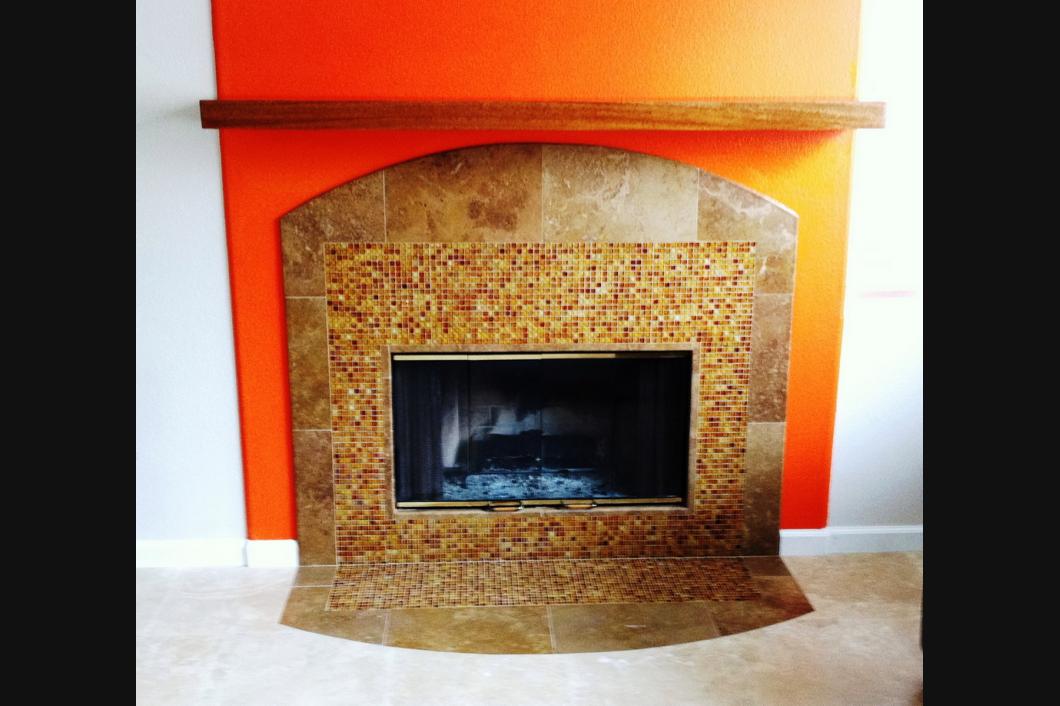 Fireplace Builder Memphis Tn Paul S Tile Inc